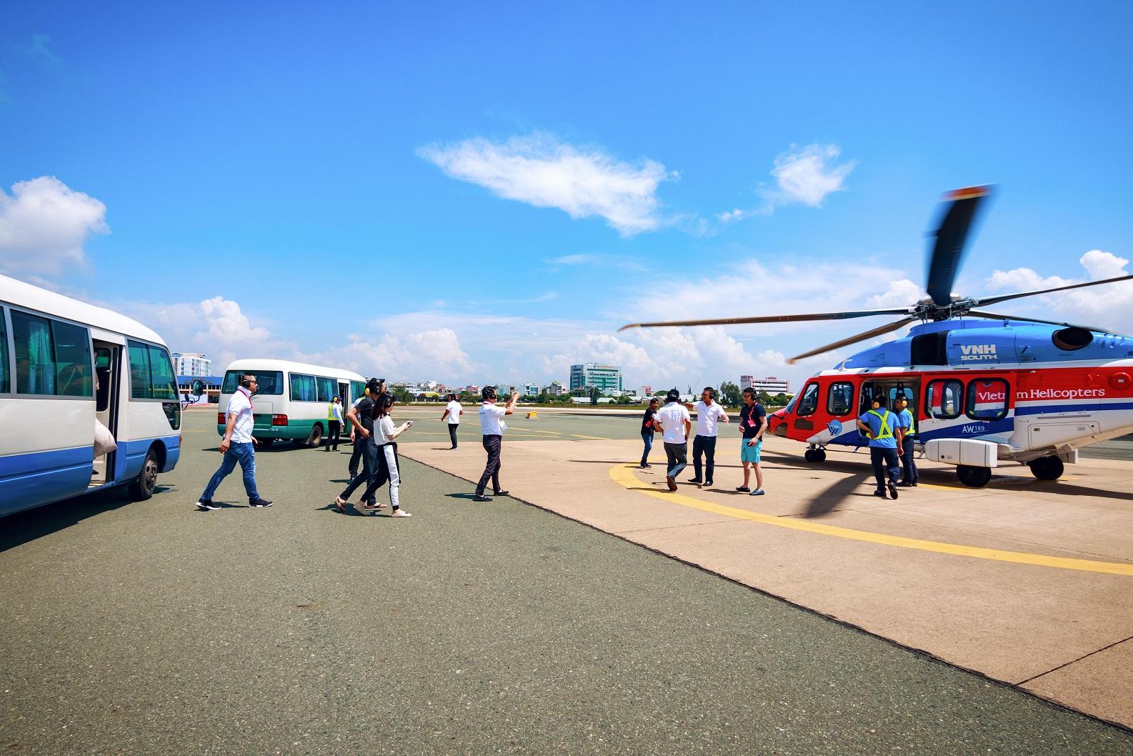 Máy bay trực thăng Vũng Tàu – Côn Đảo sẽ triển khai từ tháng 4/2019