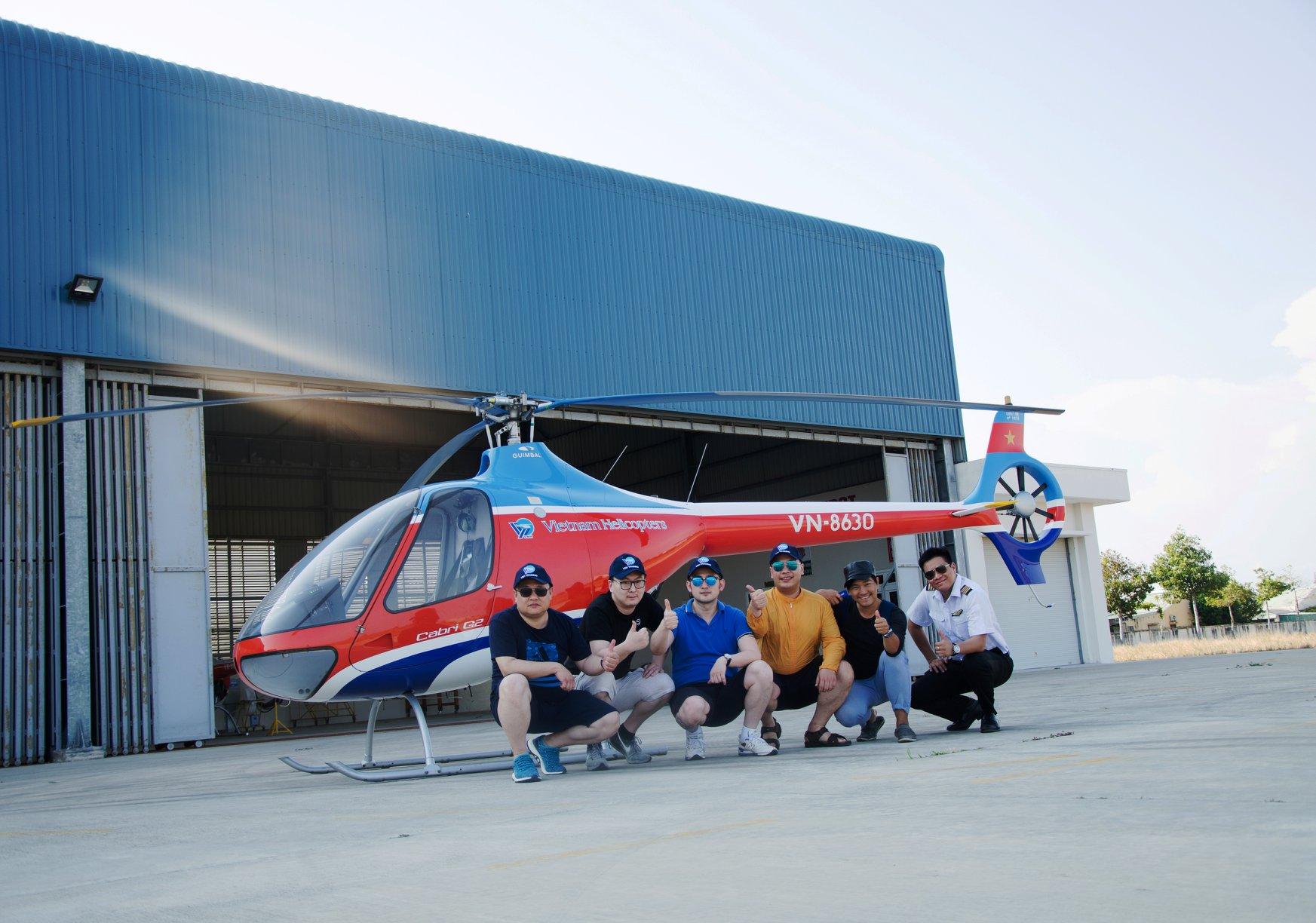 Trải nghiệm bay trực thăng tại Vũng Tàu