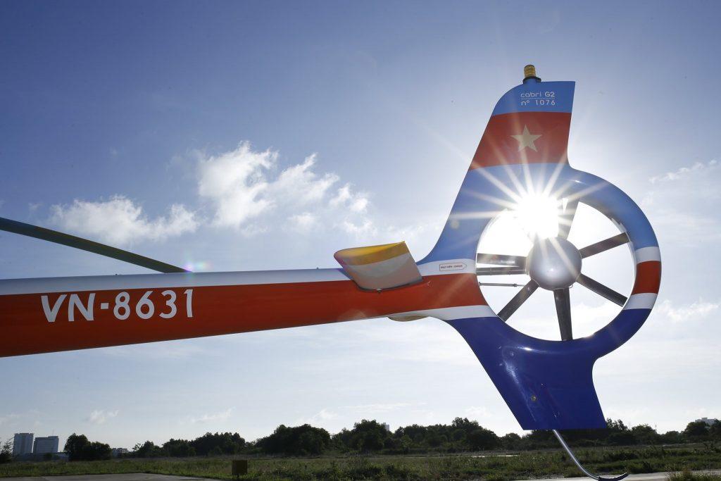 Cánh quạt đuôi trực thăng Cabri G2