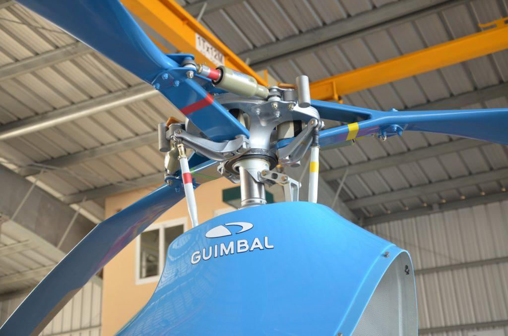 Cabri G2 được thiết kế với hệ thống gồm 03 lá cánh quay rất linh hoạt.