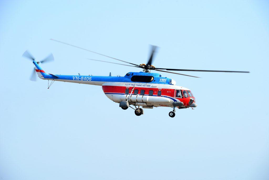 Lịch bay trực thăng Vũng Tàu – Côn Đảo tháng 8/2020