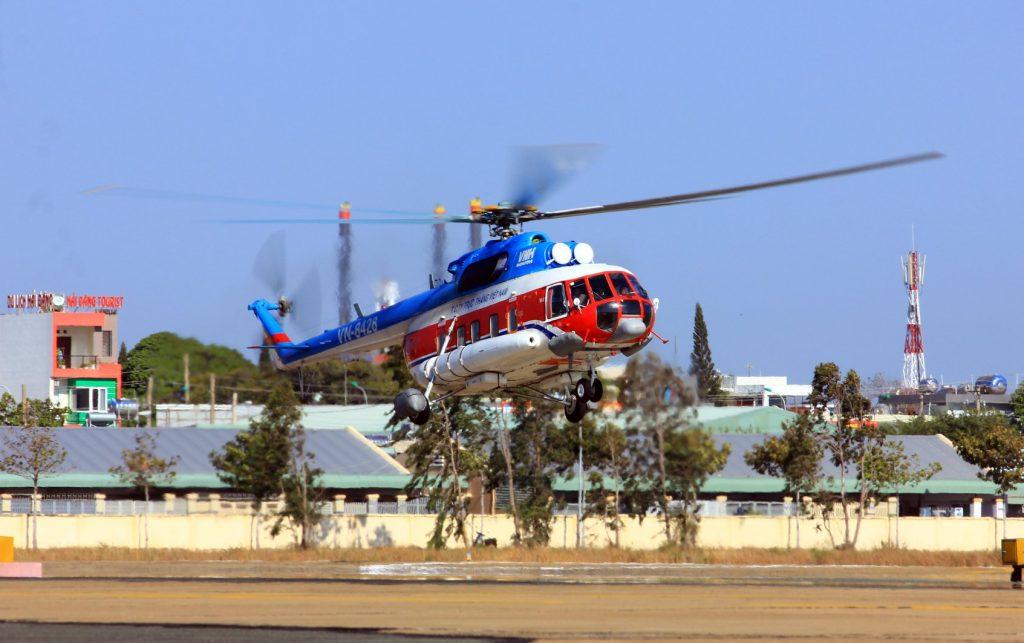Lịch bay trực thăng Côn Đảo – Vũng Tàu tháng 9/2020