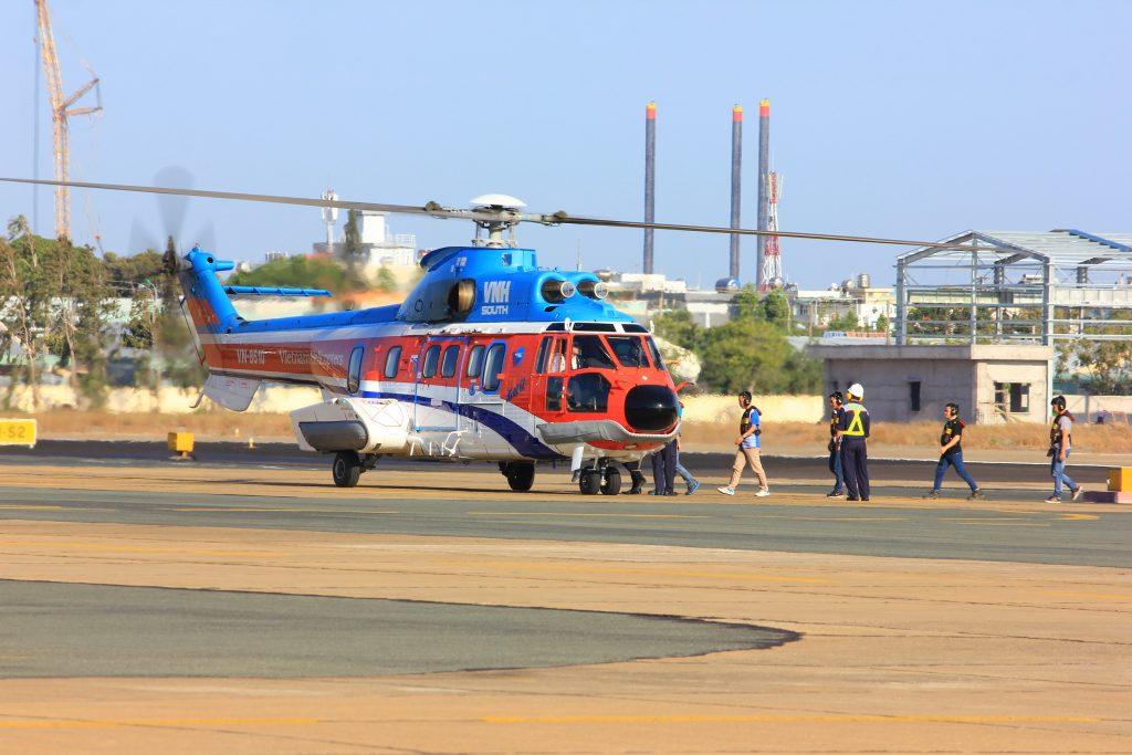 Lịch bay trực thăng Côn Đảo – Vũng Tàu tháng 4/2021
